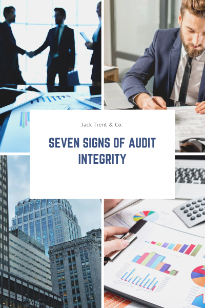 Seven Signs of Audit Integrity